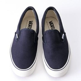 VANS - UNITED ARROWS × VANS UASP SLIPON NAVY