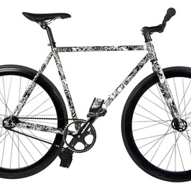 State Bicycle Co. - The Hundreds x State Bicycle Co.   Fixed Gear Bicycle