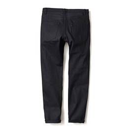 HEAD PORTER PLUS - DENIM PANTS / SLIM BLACK