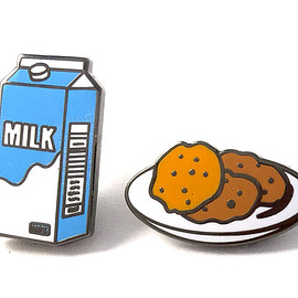 Pintrill - Milk & Cookies Pins