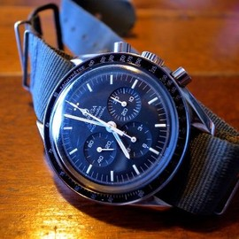 "OMEGA - ""Speedmaster PROFESSIONAL"" with NATO Strap"