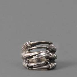 KD2024 - SILVER CLAW RING