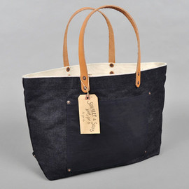 STANLEY & SONS - 23OZ SELVEDGE DENIM TOTE BAG