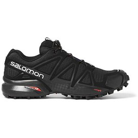 Salomon - Speedcross 4 Mesh and Rubber Running Sneakers