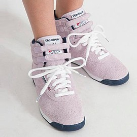 Reebok - MILKFED. × REEBOK FREESTYLE HI LIGHT PURPLE