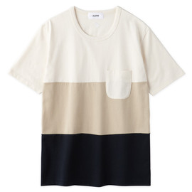 Aloye - Tricolore #3 / Short-sleeve Pocket T-Shirt
