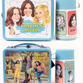CHARLIE'S ANGELS LUNCH BOX W/THERMOS