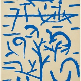 Paul Klee - Boats in the Flood (1937)