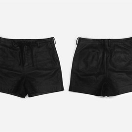 SUNSEA - Leather over-short