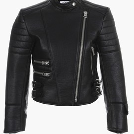 Acne - moi leather jacket