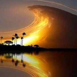 Costa Rica - ORANGE: DARK: Sky Wave