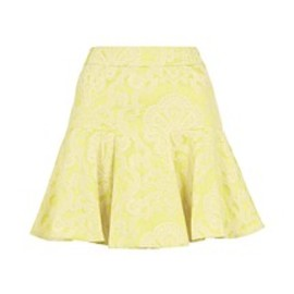 TOPSHOP - TOPSHOP CLOTHING(トップショップ クロージング)のCO-ORD LIME JACQUARD SKIRT(スカート)|ライム