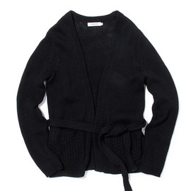 nonnative - ROVER KNIT GOWN - C/L MIX JERSEY