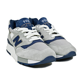 New Balance - M998CSEF - Grey/Navy
