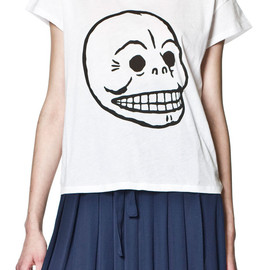 CHEAP MONDAY - Lina Tee Skull White