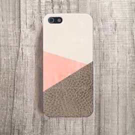 by csera - Leather iphone case