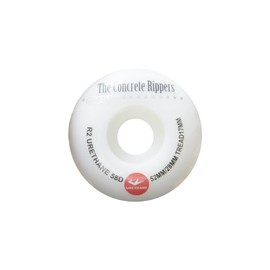 OMG! - THE CONCRETE RIPPERS (White) (52mm)