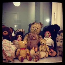 Antique - Teddy  Bears