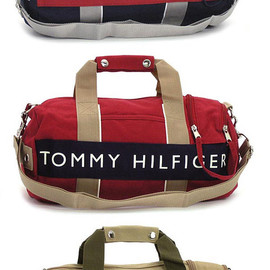 TOMMY HILFIGER - MINI DUFFLE BOSTON BAG