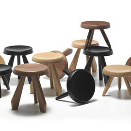 CASSINA - Charlotte Perriand / TABOURET