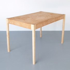 Lukas Peet - Surface Tension writing desk