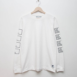 cup and cone - Cup of Spring L/S - White