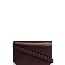 Alexander Wang - ALEXANDER WANG  - 'Prisma' skeletal leather flap biker purse