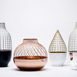 Jaime Hayon - Grid Vases for Gaia and Gino