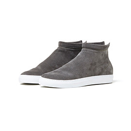 nonnative - TRAVELER TRAINER MID COW LEATHER