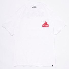 X-Large, Chocolate Skateboards - X-LATE POCKET TEE