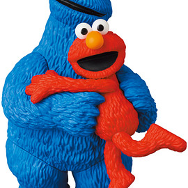 MEDICOM TOY - UDF SESAME STREET シリーズ2 ELMO & COOKIE MONSTER