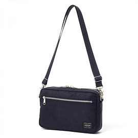 "HEAD PORTER - ""U-BAHN"" SHOULDER BAG BLACK"