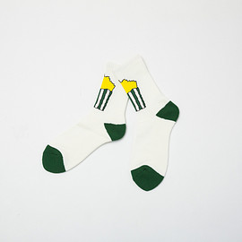 KONCOS - POTATO SOCKS [GREEN]