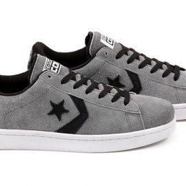 CONVERSE - CONS Pro Leather – Grey – Black – White