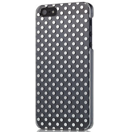 Trinity - Simplism Floating Pattern Cover Set for iPhone 5 Mirror Dot
