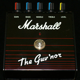 Marshall - Guitar effector / Marshall The Guv'nor