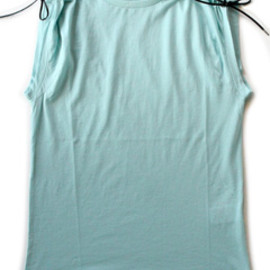 TOGA - String jersey Tank (light green)
