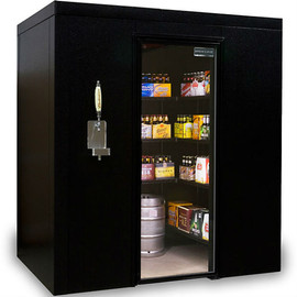 kegworks - Brew Cave Walk-In Beer Cooler & Kegerator