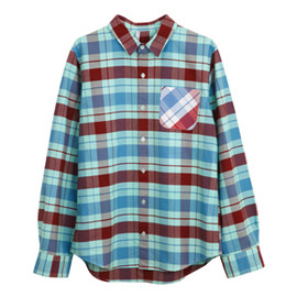 .efiLevol - Dyed Check Shirt