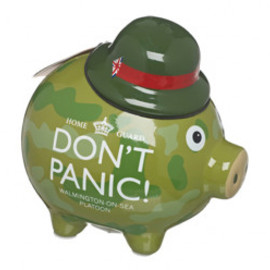 ROYAL AIR FORCE MUSEUM - Dad's Army camo piggy bank