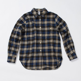 MHL. - BRUSHED COTTON CHECK SHIRT