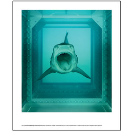 Damien Hirst  - The Physical Impossibility of Death - large poster