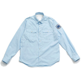 White Mountaineering - T/C WEATHER POLICE SHIRT