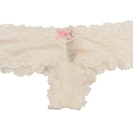 Victoria's Secret - Victoria's Secret Very Sexy Lace Trim Cheeky Panty