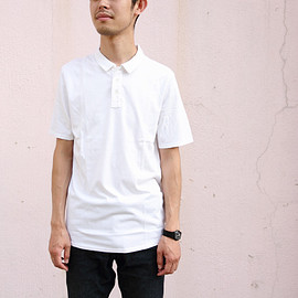 SWRVE - cotton/Modal polo (white)