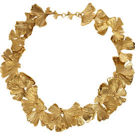 AURÉLIE BIDERMANN - Gold Tangerine Collar