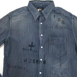 OLD JOE & Co. - Chambray Shirt (Stripe)