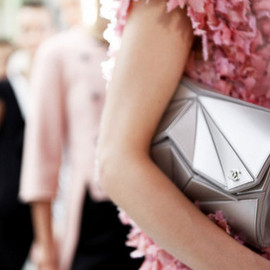 CHANEL - SS 2012 Geometric Clutch