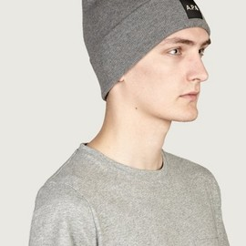A.P.C. x Carhartt - Men's Black Beanie Hat