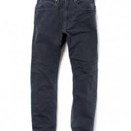 nonnative - DWELLER 5P JEANS – COTTON OXFORD